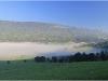 Brumes dans le Val de Lans - Matin du 1er août 2011