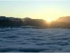 Mer de Nuage au dessus de Grenoble - 21 janvier 2010
