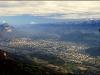 Grenoble, Chartreuse et Belledonne depuis le Vercors, dimanche 19 octobre 2008
