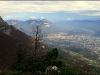 Chartreuse et Grenoble, depuis le Vercors, dimanche 19 octobre 2008
