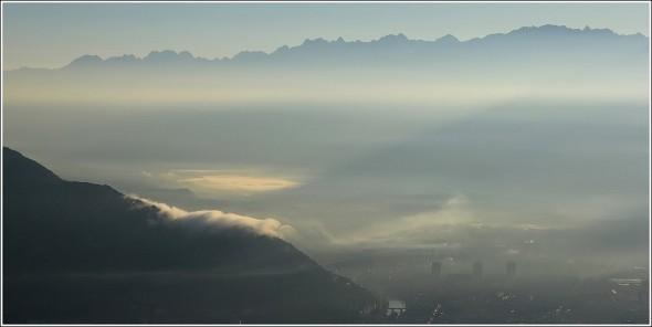 Chartreuse, Belledonne & Grenoble - Matin du 21 septembre 2011