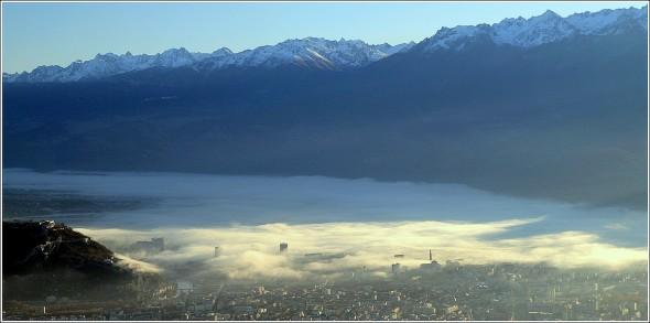 Grenoble et Belledonne - 25 novembre 2009