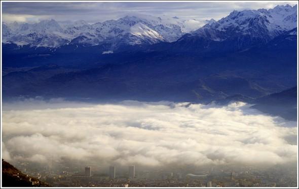 Grenoble et Belledonne - le 5 novembre 2009