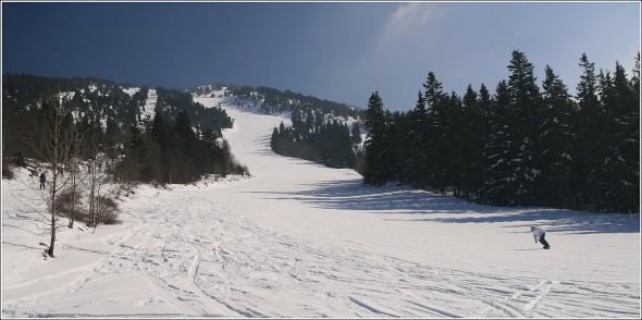 Piste de ski à Lans en Vercors - 5 mars 2011