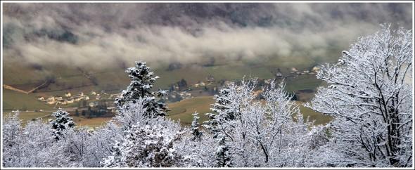 Lans en Vercors depuis la Sierre (1400m) - 6 novembre 2009