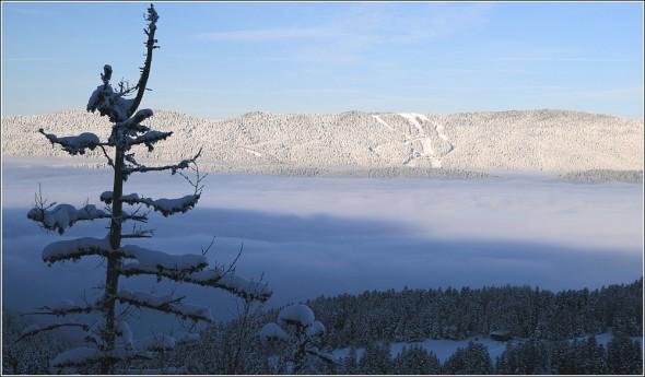 Lans en Vercors et pistes de ski de Méaudre - 15 février 2010