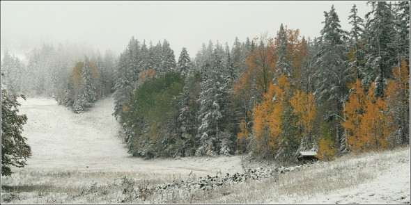 Lans en Vercors - 1400m - 18 octobre 2010