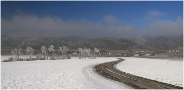 Microclimat à Lans en Vercors - 2 février 2011