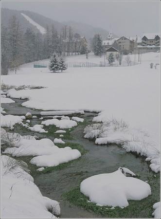 Lans en Vercors -Lendemain de neige - Lundi 4 janvier 2009