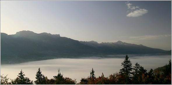 Plateau du Vercors - Matin du 9 octobre 2010