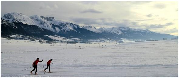 Plateau du Vercors - 24 janvier 2010 -15h57