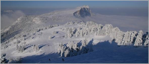 Lans en Vercors - Les pistes et le Moucherotte - 10 janvier 2010