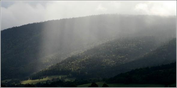 Rayons de soleil - Lans en Vercors - 26 septembre 2010