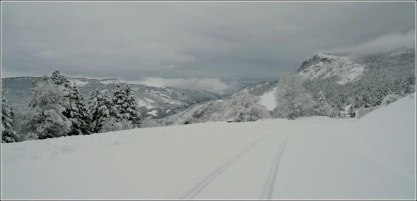 Lans en Vercors - Stade de neige - 1400m - 4 avril 2010
