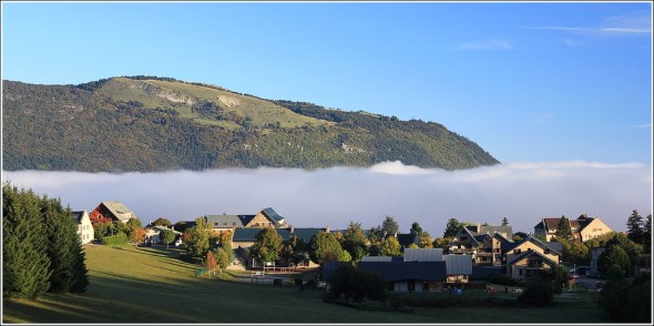 Vercors et mer de nuages - St Nizier du Moucherotte - 11 octobre 2011