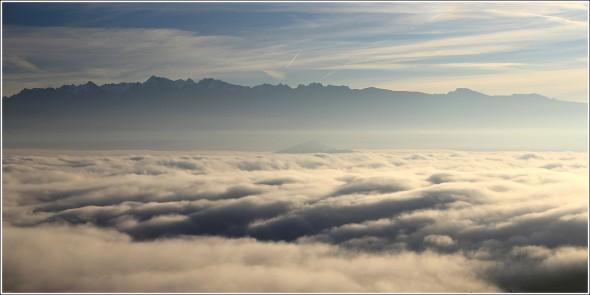 Belledonne - Mer de nuages - 28 novembre 2011