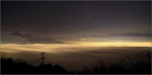 Mer de nuages - Grenoble - 24 novembre 2011