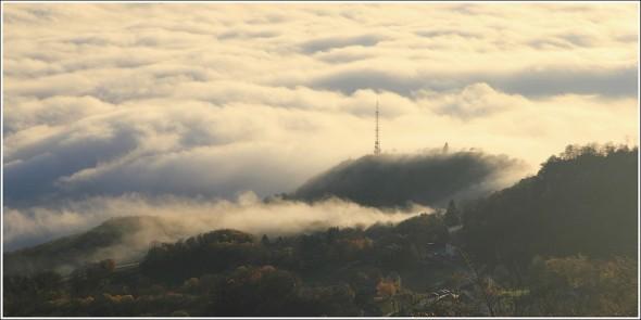 Mer de nuages - La Tour sans venin - Vercors - 25 novembre 2011