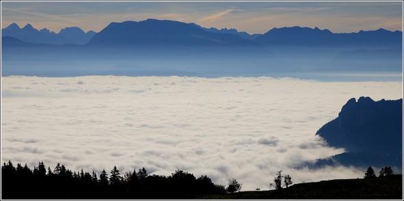 Taillefer, mer de nuages et Vercors - 16 octobre 2011