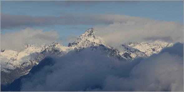 Neige d'été sur le massif de Belledonne - 20 juillet 2011 - 19h20