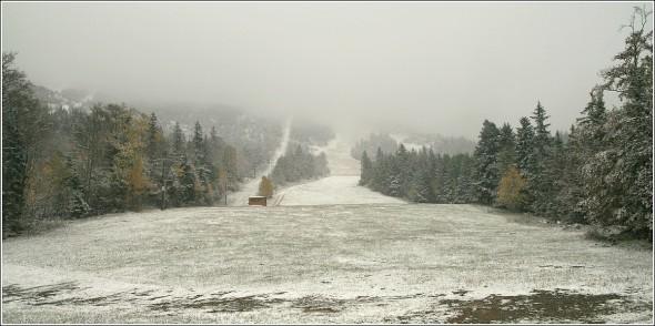 Pistes de ski de Lans en Vercors - 1400m - 17 octobre 2010