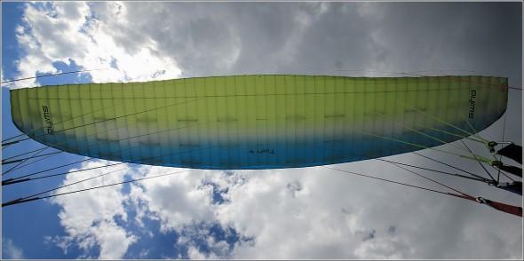 La voile - Parapente à Lans en Vercors - 9 juillet 2011