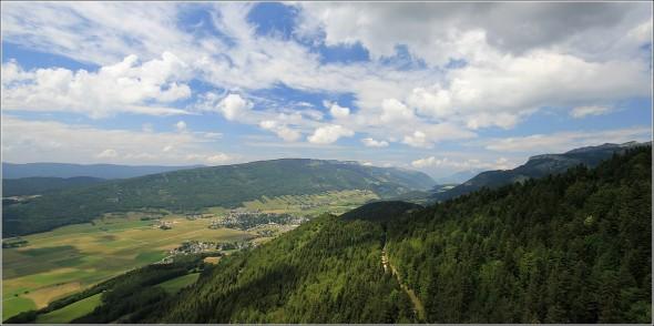 Dans le ciel du Vercors - Entre Lans en Vercors et Villard de Lans - 9 juillet 2011