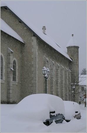 Eglise de Lans en Vercors - 8 janvier 2010