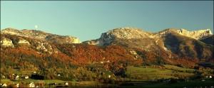 Plateau du Vercors - 10 octobre 2008 - vers 18h