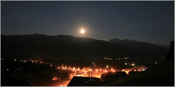 Pleine Lune - Lans en Vercors - 25 juin 2010