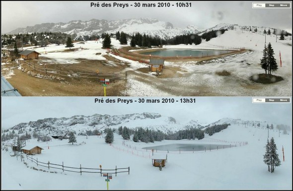 Pre des Preys - Villard de lans - 1520m - 30 mars 2010