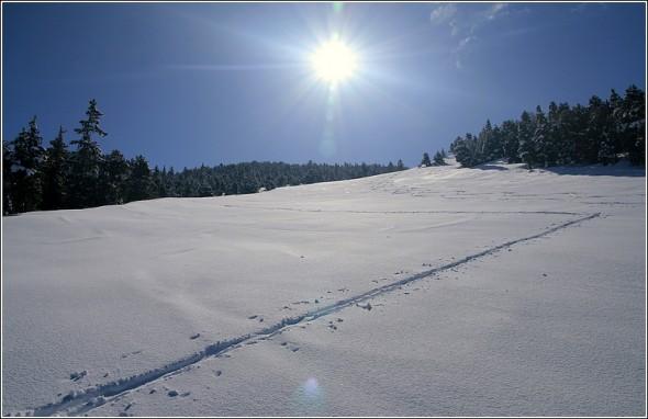 Ski de rando à Lans en Vercors - 5 avril 2010