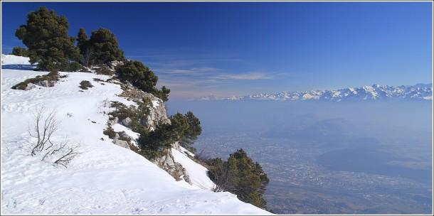 Vercors, Grenoble et Belledonne - 11 mars 2012