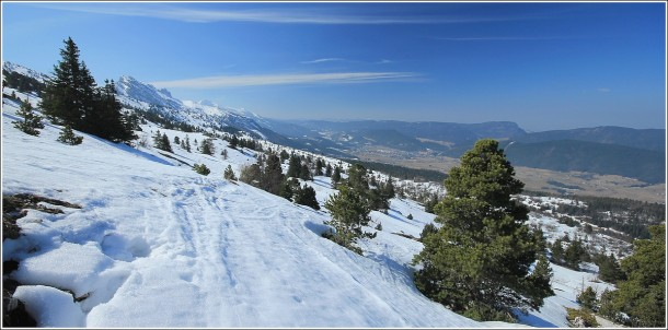 Plateau du Vercors - 25 mars 2012