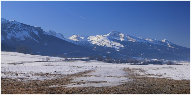 Plateau du Vercors - Matin du 15 mars 2012