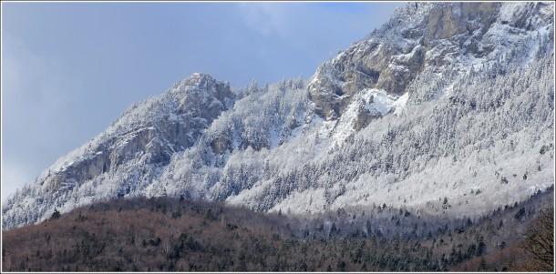 Vercors - Moucherotte - 1700m - 20 avril 2012