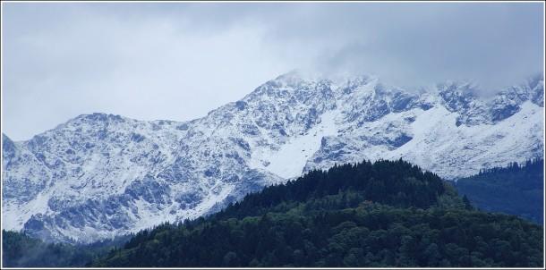 Neige en moyenne montagne - Massif de Belledonne - 31 août 2012