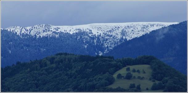 Neige en moyenne montagne - Les 7 Laux - 31 août 2012