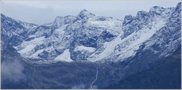 Neige sur Belledonne - 12 septembre 2012
