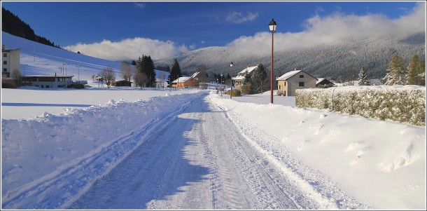 Autrans - Vercors - Paysage après la tempête de neige - 29 octobre 2012