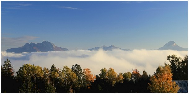 Vercors, mer de nuages et Chartreuse - 25 octobre 2012