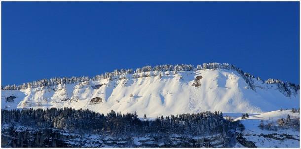 Plaque à vent - Vercors - Sommet de Charande - 1700m - 12 décembre 2012