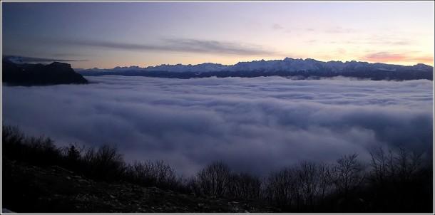 Vercors, Chartreuse, Grenoble et Belledonne - 21 décembre 2012