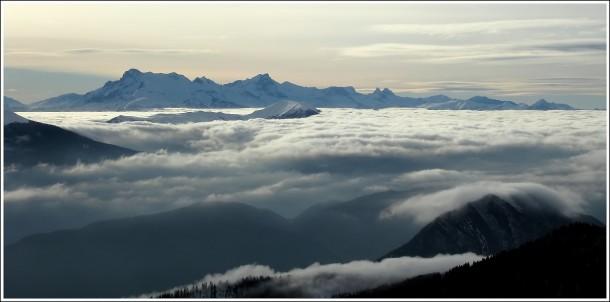 Hautes Alpes - Obiou (2790m) - Depuis Lans en Vercors - 22 décembre 2012