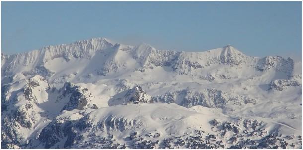 Chamrousse et l'Alpe d'Huez depuis Lans en Vercors - 28 décembre 2012