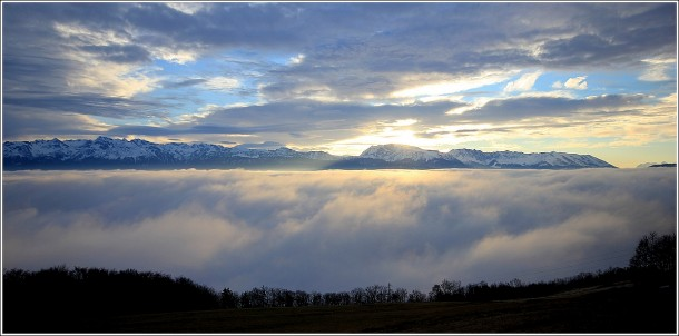 Saint Nizier du Moucherotte - Belledonne et Taillefer - 10 janvier 2013
