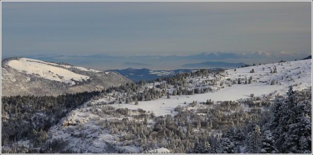 Charande et plateau des Ramées - Lans en Vercors - 12 janvier 2013