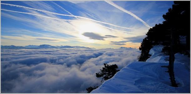 Mer de nuages - Lans en Vercors - 5 janvier 2013