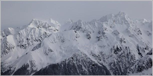 Massif de Belledonne - Les 7 Laux - 10 février 2013