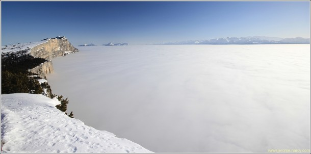 Mer de nuages - Lans en Vercors - 2 mars 2013